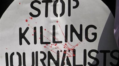At least 34 journalists may have been killed in Pakistan since 2008 because of their work [AFP]