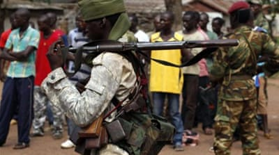 Chadian troops have been accused of siding with the mainly Muslim Seleka militia group [AFP]