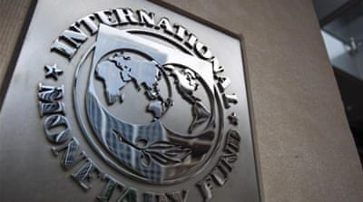 The IMF has warned that the Ukraine economy faces contraction this year [EPA]