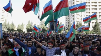Azerbaijan has been criticised by Human Rights Watch for its dubious election practises and ongoing violent crackdown on freedom of expression, writes Geybullayeva [Reuters]