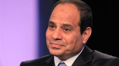 Abdel Fattah el-Sisi, 59, is expected to win the May 26-27 presidential vote [AFP]