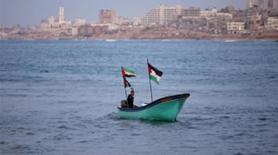 For centuries Gaza port was a busy maritime hub [Reuters]