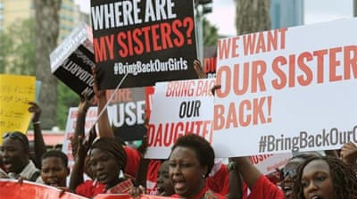 African women's organisations in Kenya are demanding the release of the Nigerian girls [AFP]
