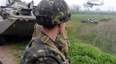 Ukraine helicopters shot down in Slovyansk