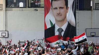 The coming elections is likely to be Bashar al-Assad's last, writes Khatib [EPA]
