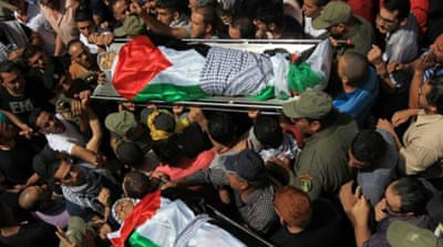 Mohammad Abu Thaher and Nadim Nuwara were shot dead on al-Nakba [AFP/Getty Images]