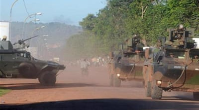 Muslims in Bambari are unwilling to disarm after similar moves in Bangui led to attacks on Muslims there [AP]