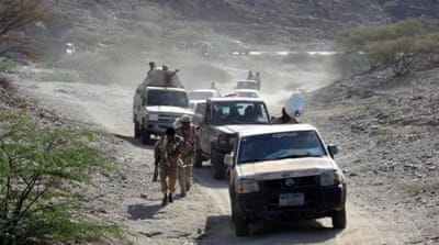 Yemen's army has launched a major offensive against al-Qaeda strongholds in the country [EPA]