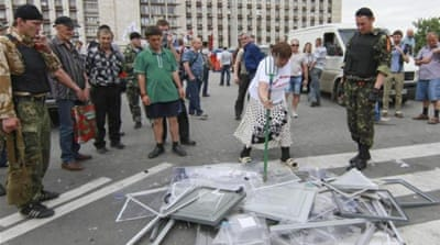 Tensions high on eve of Ukraine's vote