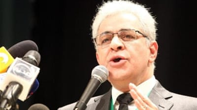 Hamdeen Sabahi has at various times worked as a journalist, an activist, a publisher and an MP [EPA]