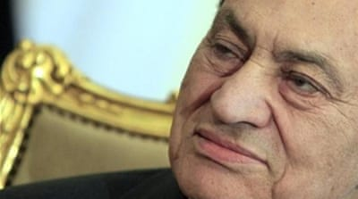 Hosni Mubarak's National Democratic Party was disbanded in 2011 [AP]