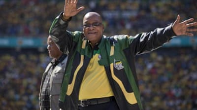 Zuma's upgrades to his home in Nkandla have earnt him criticism from senior ANC officials and angry youths [AP]