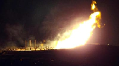 The gas pipeline has been attacked more than a dozen times since the January 25, 2011 uprising [EPA]