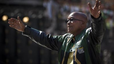 ANC triumphed with 62 percent at South Africa's elections [AP]