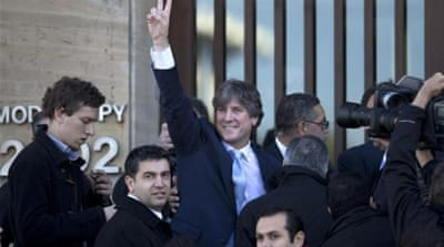 Argentina's vice president denies wrongdoing