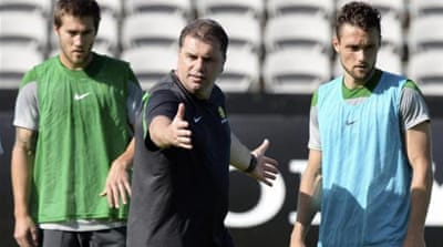 Coach Postecoglou will need to guide his team through the group of death [AP]