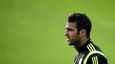 Fabregas left Arsenal for Barcelona in 2011 [AP]