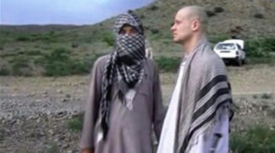 Sgt Bowe Bergdahl was freed in a swap for five Taliban detainees [AP]