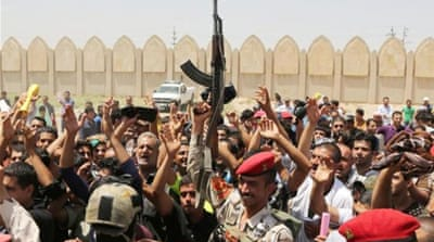 Iraq steps up offensive against rebels