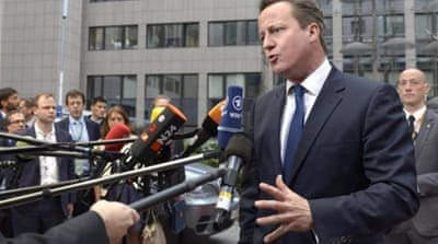 What are Cameron's 'British values'?