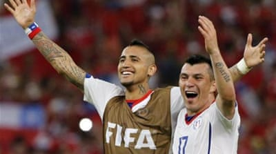 Chile miners used to inspire World Cup team