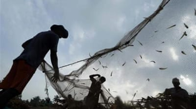 Attempts by fishing communities in India and Sri Lanka to resolve the problem have ended in failure [AP]
