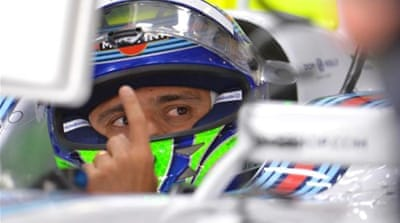 Massa managed to grab pole for the first time since 2008 [AP]