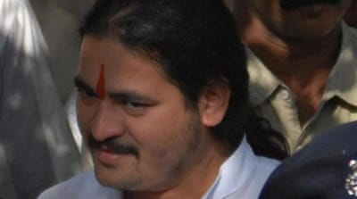 Indian right-wing leader Dhananjay Desai was arrested for his alleged involvement in the Pune murder case [AFP]