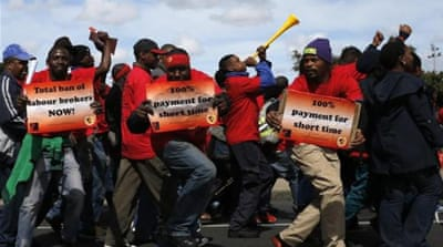 South Africa braces for major workers' strike