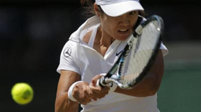 Li Na is the second-seed and reigning Australian Open champion [AP]