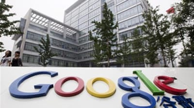 China obstructs Google before Tiananmen date