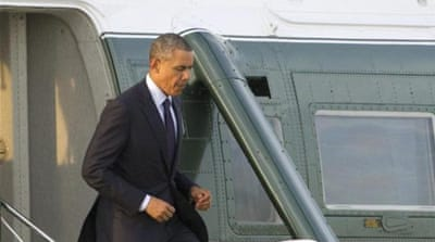 Warsaw is the first stop in Obama's tour meant to reassure East European allies of the US [AP]