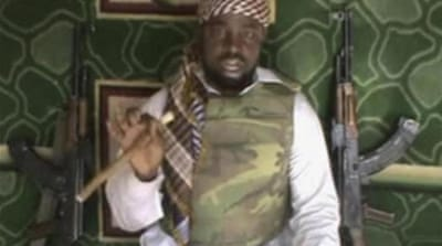 Boko Haram leader Imam Abubakar Shekau threatens to burn down more schools and kill teachers [AP]