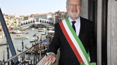 "Lawyers of Mayor Giorgio Orsoni say the allegations ""appear hardly credible"" [File: AP]"