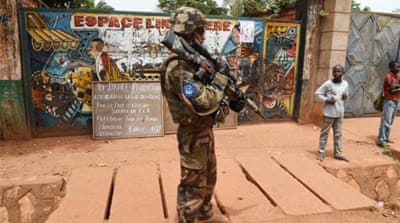 The violence has continued despite the presence of 2,000 French troops and a 5,600-strong African Union force [AFP]