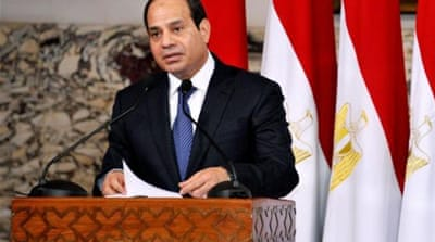 Sisi promises to defeat 'terrorism' in Egypt