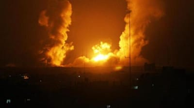 Israel bombs Gaza after settlers found killed