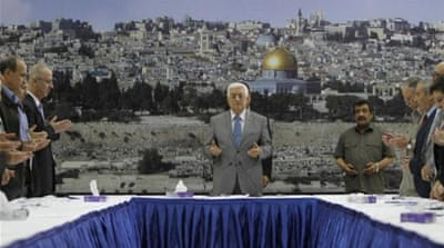 Palestinians denounce West Bank leadership