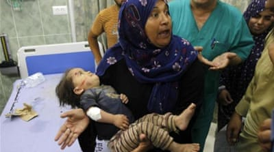 Reactions included an offer to treat injured Palestinians by the Scottish government [EPA]