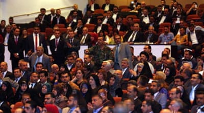 Iraq's Sunnis pick parliament speaker