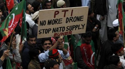 The drone 'blowback'