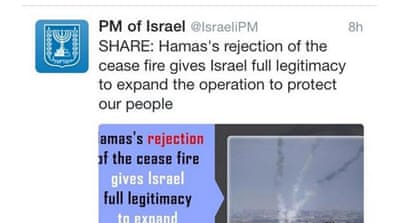 Israel buys tweets to promote Gaza escalation