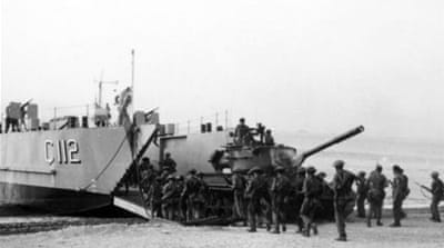 Turkish troops boarding a ship in the aftermath of the Turkish invasion of Cyprus in 1974 [EPA]