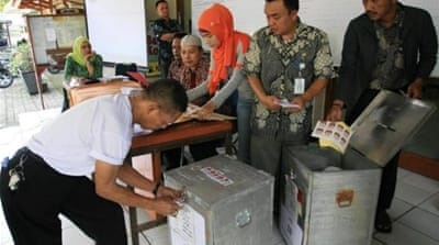 Indonesia candidate denies vote-rigging