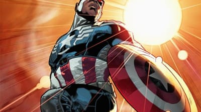Marvel's new Captain America is black