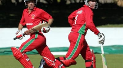 Zimbabwe scored at five an over to reach the target with 28 balls to spare [AFP]