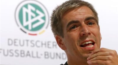 Lahm will continue to play for Bayern Munich [REUTERS]