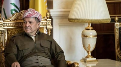 Barzani has announced plans to hold a referendum on Kurdish independence [AP]