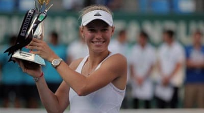 Wozniacki has now won a title in each of the last seven years [AP]