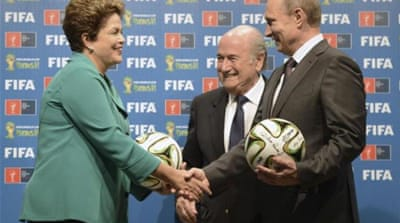The bidding process for the 2018 and 2022 World Cups is being investigated [REUTERS]